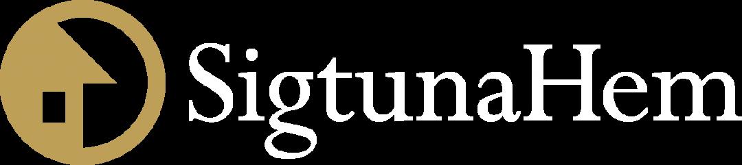 SigtunaHem_Logo_Landscape_White_gold